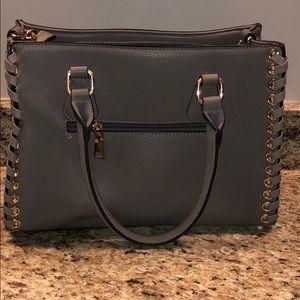 Wilson Leather gray purse